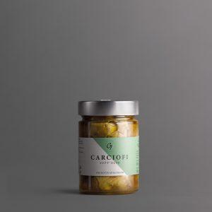GALIARDI –Azienda Agricola Cartoceto –Carciofi sott'olio